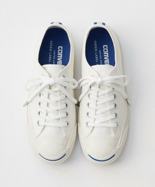 "b9500c056fa ""JACK PURCELL"" by CONVERSE x green label relaxing WOMENS  cartonmagazine"