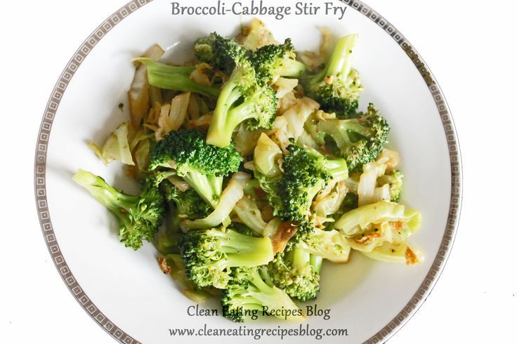 Clean Eating Dinner Idea – Broccoli-Cabbage Stir Fry | Clean Eating Recipes - Clean Eating Diet Plan Made Easy | #cleaneating #eatclean #cleaneatingideas #healthyfood #healthylifestyle #healthyfoodporn #healthyeats #healthylifestyle #healthyrecipes #healthyliving #healthybreakfastideas #healthybreakfast #eatwell #healthspo #cleaneats #fitfam #fitfood #fitspo #fitness #foodporn #healthylunch #healthydinner #cabbagestirfry