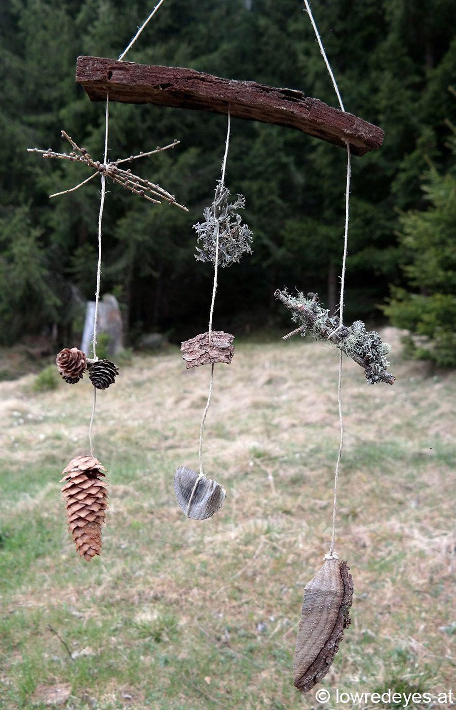 Waldmobile hang loose kreatives wald pinterest for Projekte im kindergarten herbst
