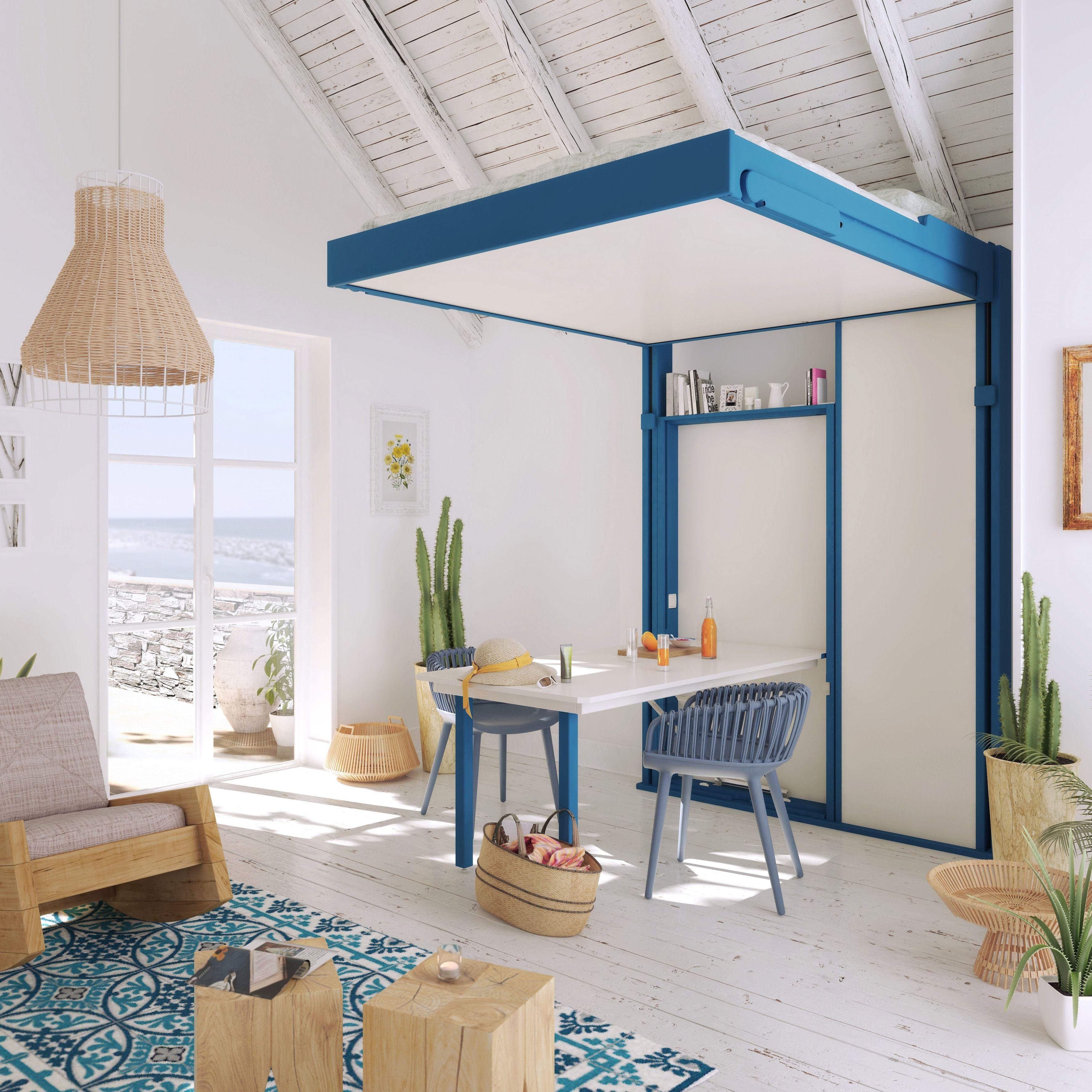 pingl par espace loggia sur lits escamotables pinterest lit escamotable espaces. Black Bedroom Furniture Sets. Home Design Ideas