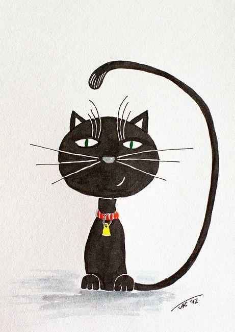 "Asta Kundelytė - ""Black cat"""