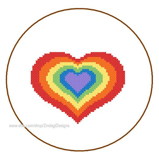Instant Download Cross Stitch Pattern cute by ZindagiDesigns, $4.00