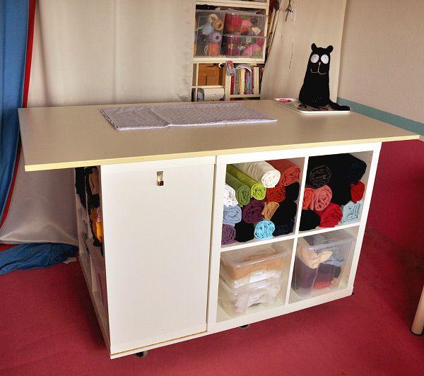 Arbeitszimmer ikea expedit  Ikea Hack: Im Handumdrehen zum eigenen Nähtisch