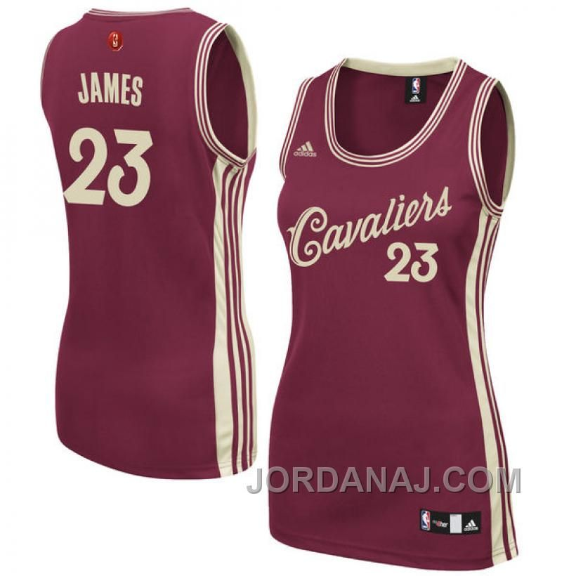http   www.jordanaj.com womens-lebron-james-cleveland-cavaliers-23-red-christmas-day-swingman-jersey.html  WOMEN S LEBRON JAMES CLEVELAND CAVALIERS  23 RED ... 2f99f6dd3b