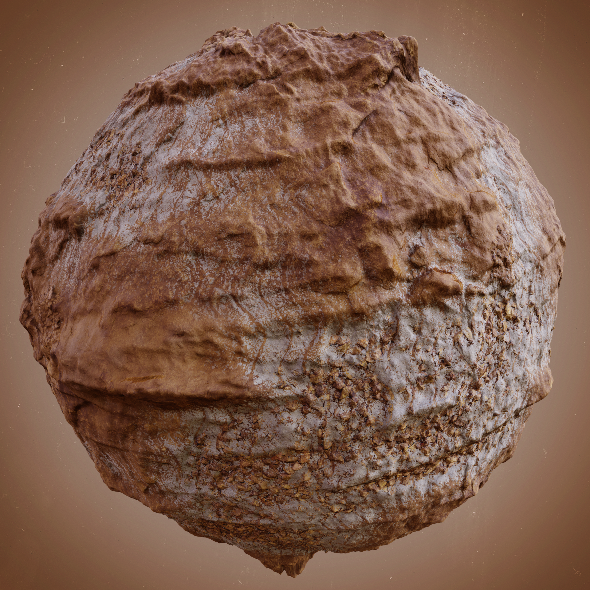 Another creation in Mixer  Base displacement map was