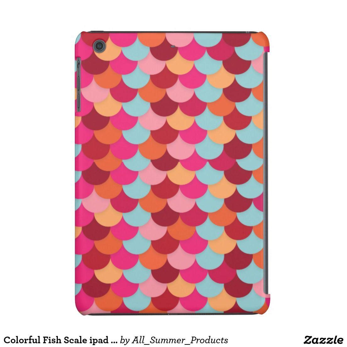 Colorful Fish Scale ipad Mini Cases | Colorful fish, Ipad mini cases ...