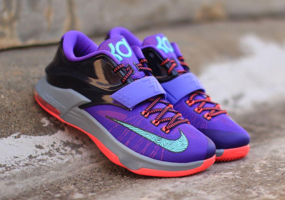 NikeiD KD 7 Lightning Purple Blue White