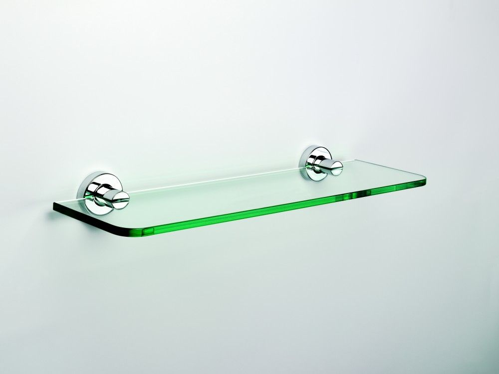 Glass Shelf : 18 Inch Glass Bathroom Shelf | Home | Pinterest ...