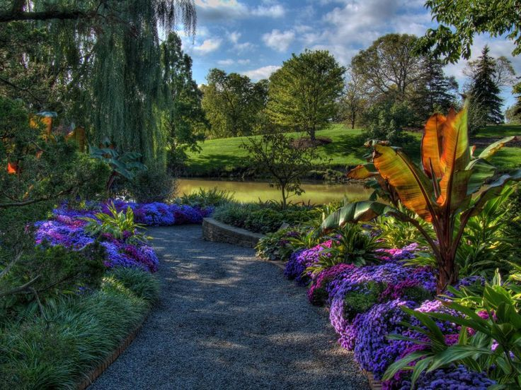 illinois flower gardens Google Search Chicago botanic