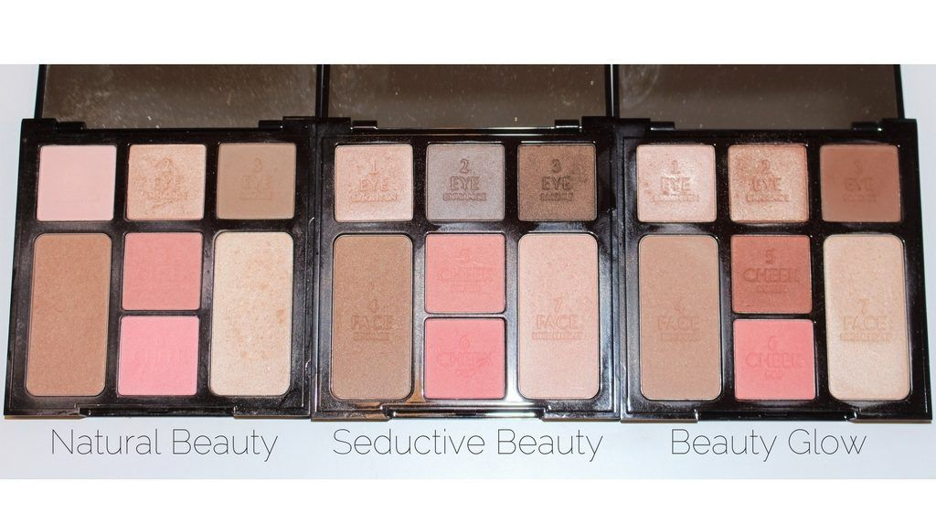 With the new Beauty Glow Instant Look Palette, there has been requests for Charlotte Tilbury Instant Palette Comparison Swatches. Here they are!