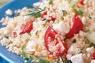 Greek-Style Couscous Salad recipe healthy-food marielx8986