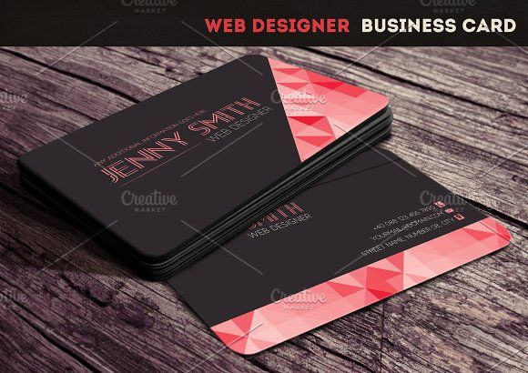 Web Designer Business Card Business cards, Card templates and Business