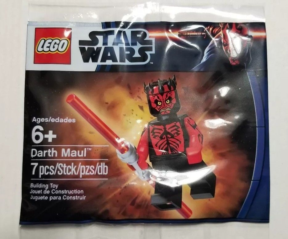 This Is A Link To Amazon And As An Amazon Associate I Earn From Qualifying Purchases Lego Star Wars 5000062 Darth Maul Pro Lego Star Wars Darth Maul Lego