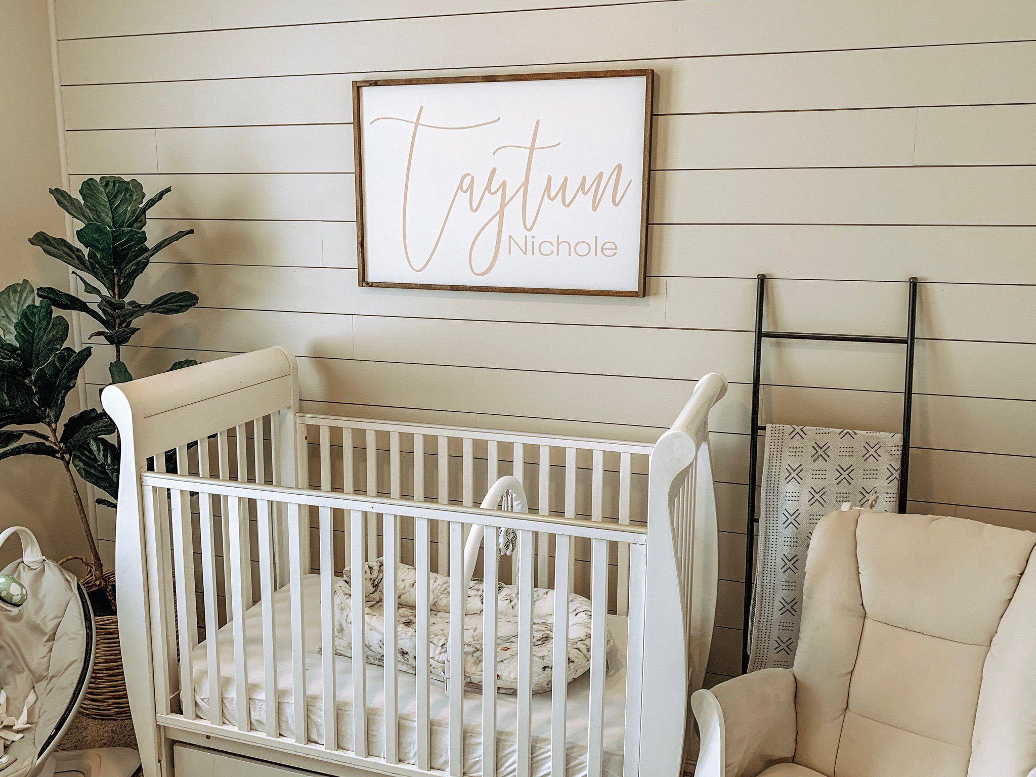 kid room decor Custom name sign for baby room boy room decor nursery decor girl room decor