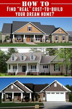 Always Wanted To Build Your Very Own Dream Home But Didn T Know How How Much It Would Cost To Bui Design Your Dream House Build My Own House Build Dream Home