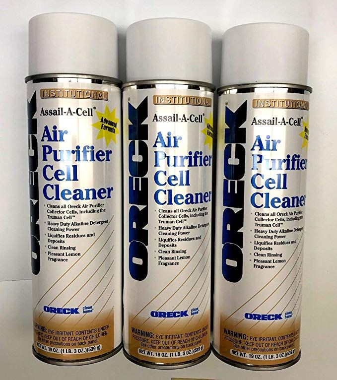 (Pack of 3) Oreck Air Purifier 19oz AssailACell Cleaner