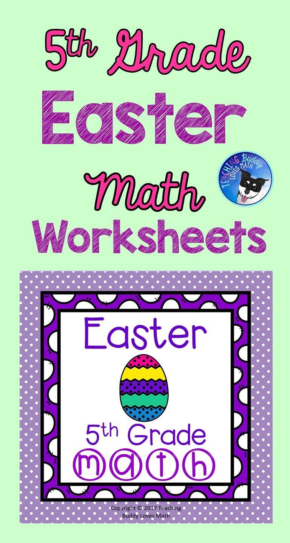 medium resolution of Easter Math Worksheets 5th Grade Common Core   Easter math worksheets