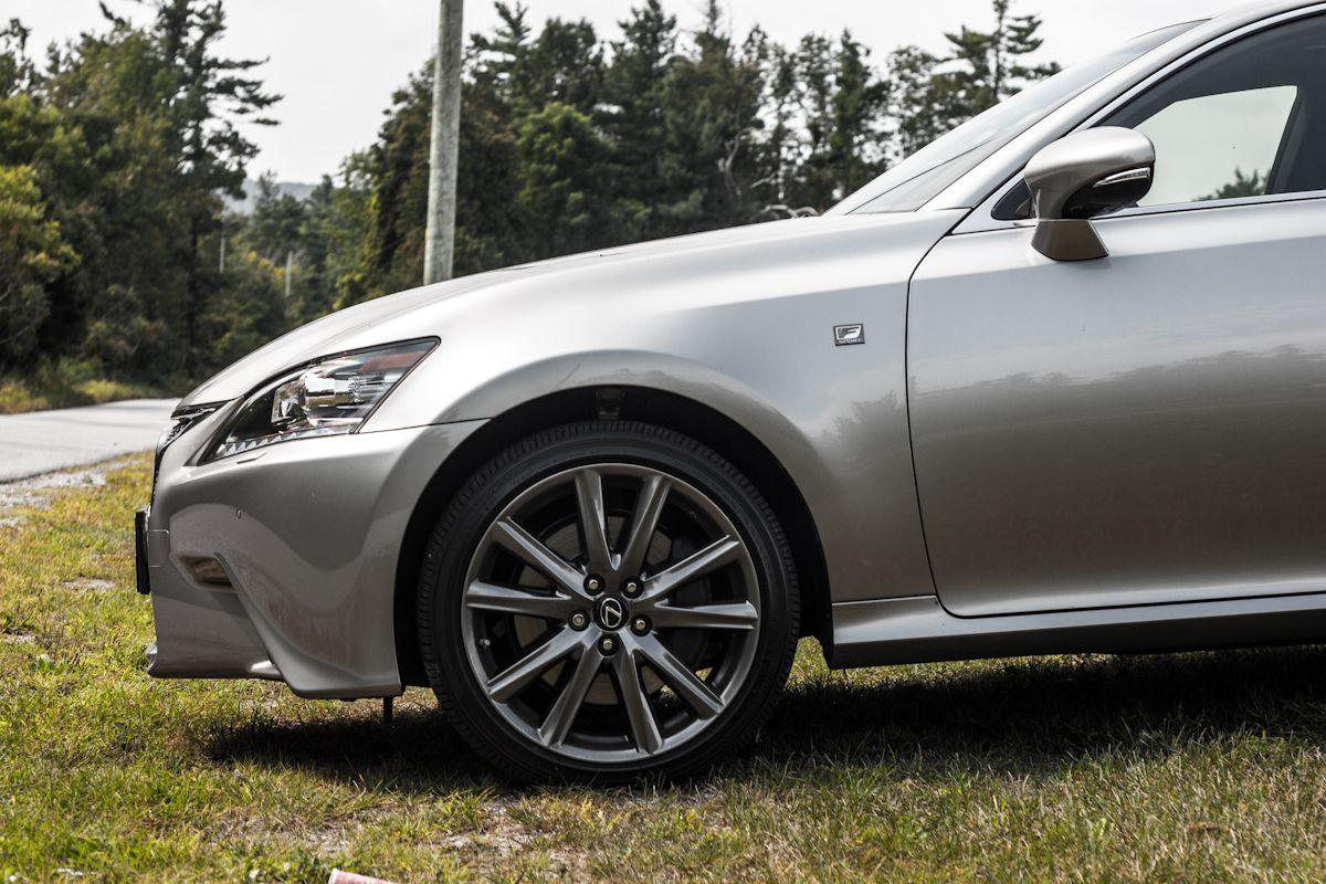2015 Lexus GS350 AWD F Sport in Atomic Silver Awd, Lexus