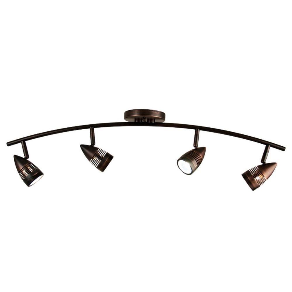 Light Oil Rubbed Bronze Track Lighting