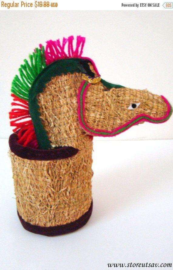 SALE  FLAT 20% OFF Pencil Holder for Kids Horse by StoreUtsav