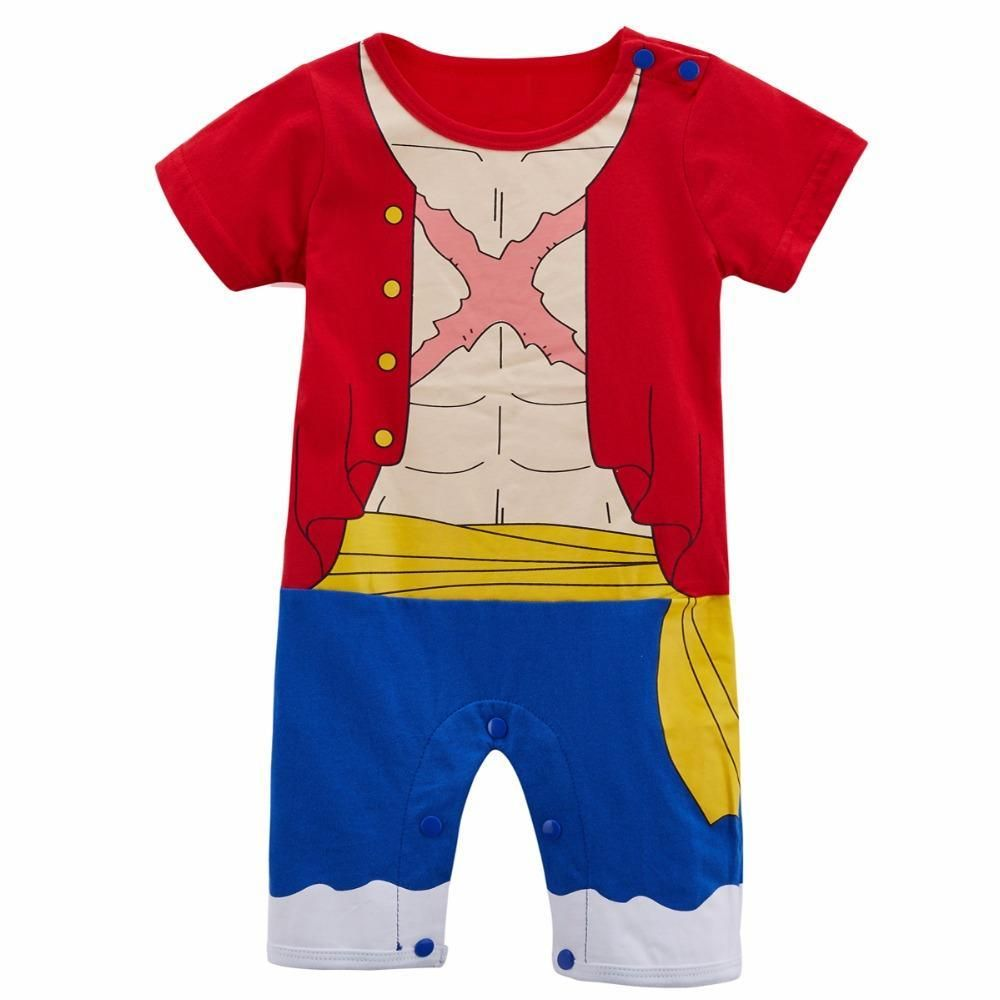 13ac0140f464 One Piece Luffy Baby Romper 0-24M  onesie  romper  babyclothes   babyclothing  infantclothes  toddlerclothes