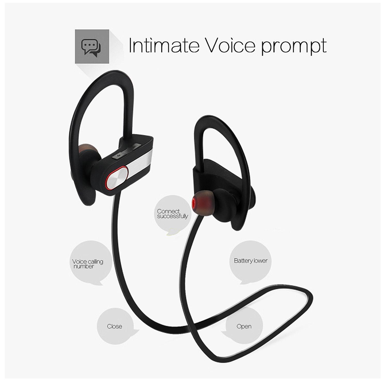 AGPtek Waterproof Bluetooth Earbuds Beats Sports Wireless