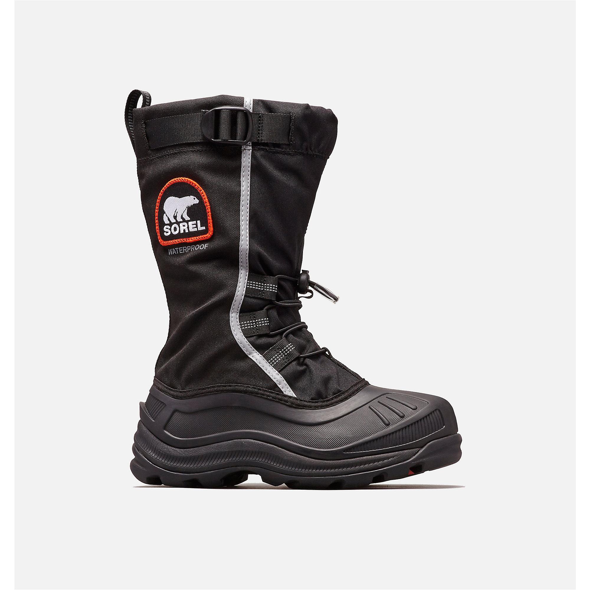 5e2743db6f1a0 SOREL Women s Alpha Pac XT Boot Size 12 - Black Red Quartz
