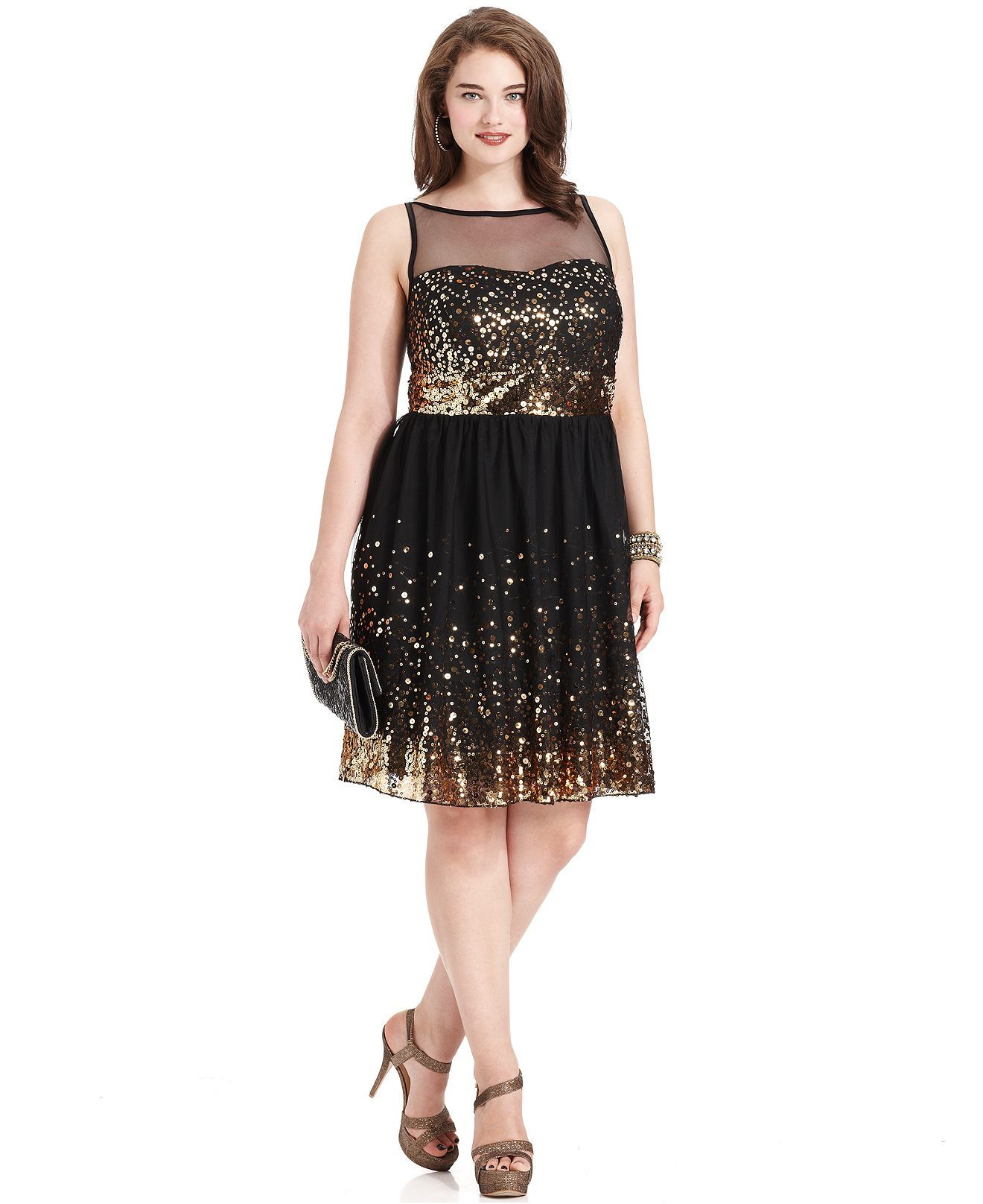c823af269fd Ruby Rox Plus Size Dress