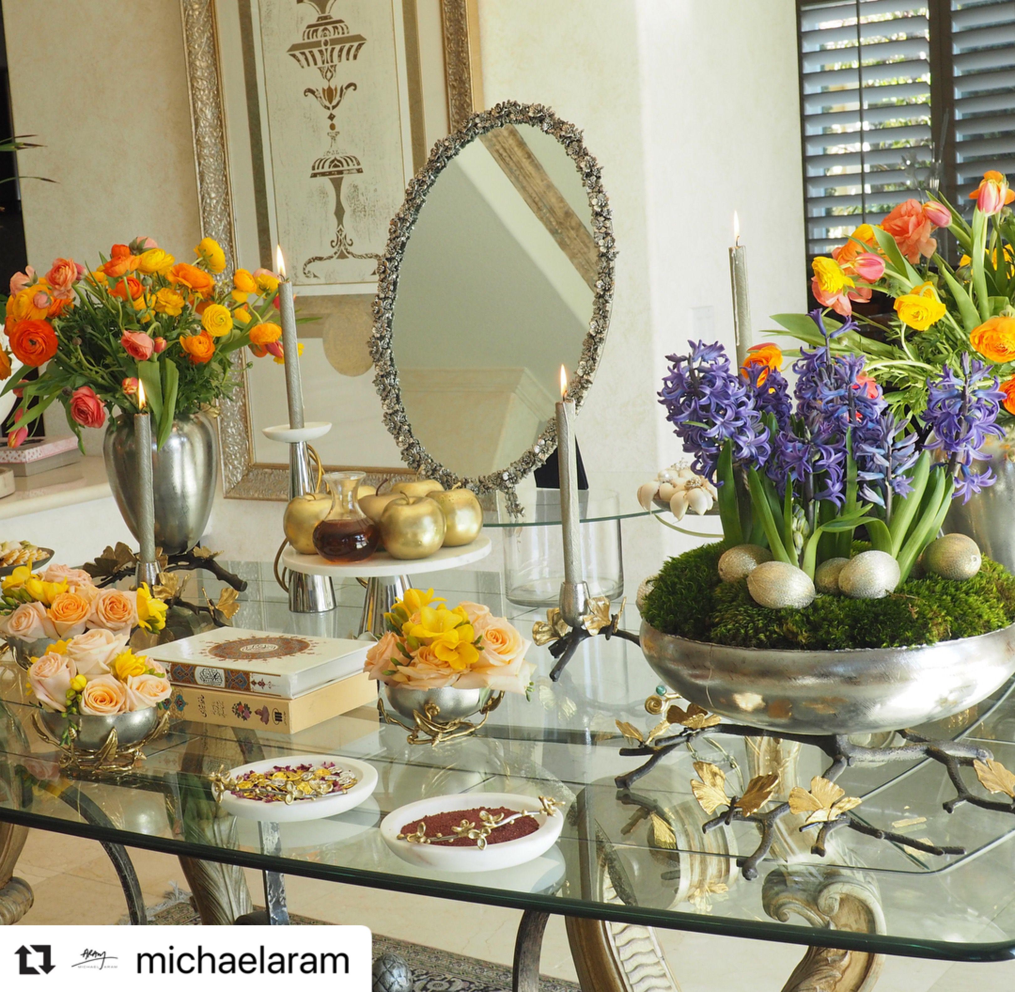 Beautiful michael aram collection haft seen haftseen