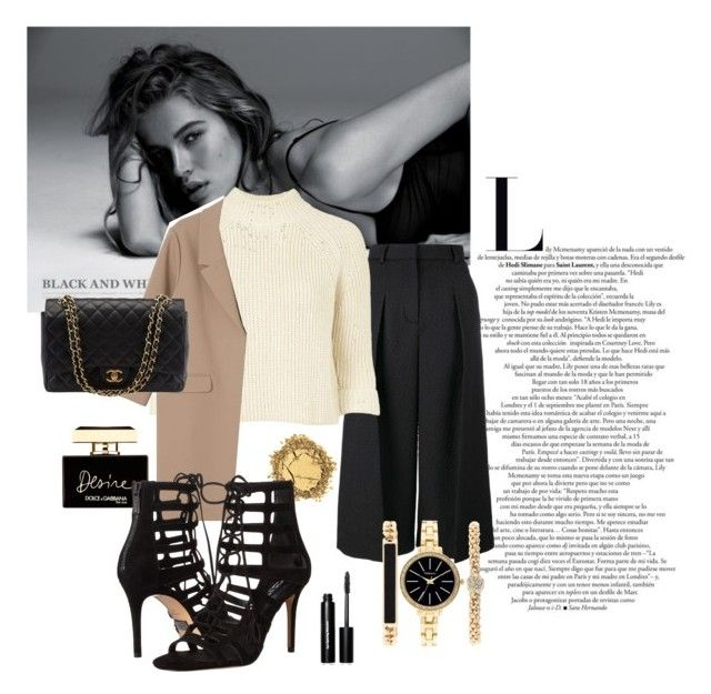 """minimalist"" by unicornvani ❤ liked on Polyvore featuring Erdem, Topshop, Monki, Dolce&Gabbana, Michael Kors, Style & Co., Chanel, Bobbi Brown Cosmetics, women's clothing and women"