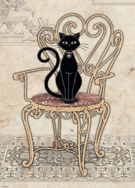 Crowther, Cats Chair | PuzzleWarehouse.com