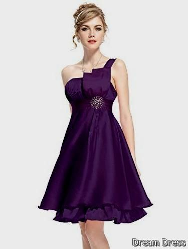 Purple Formal Dresses For Juniors 2017 2018 Dreamydress Vestidos