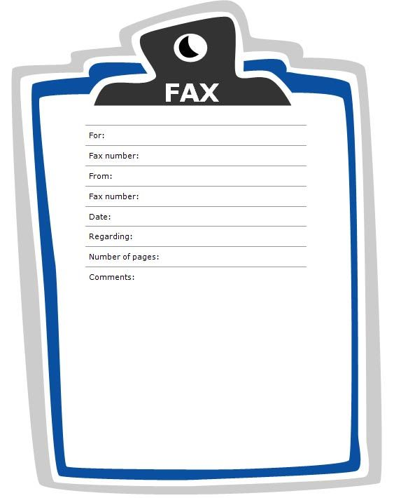 Fax Cover Sheet   Google Search