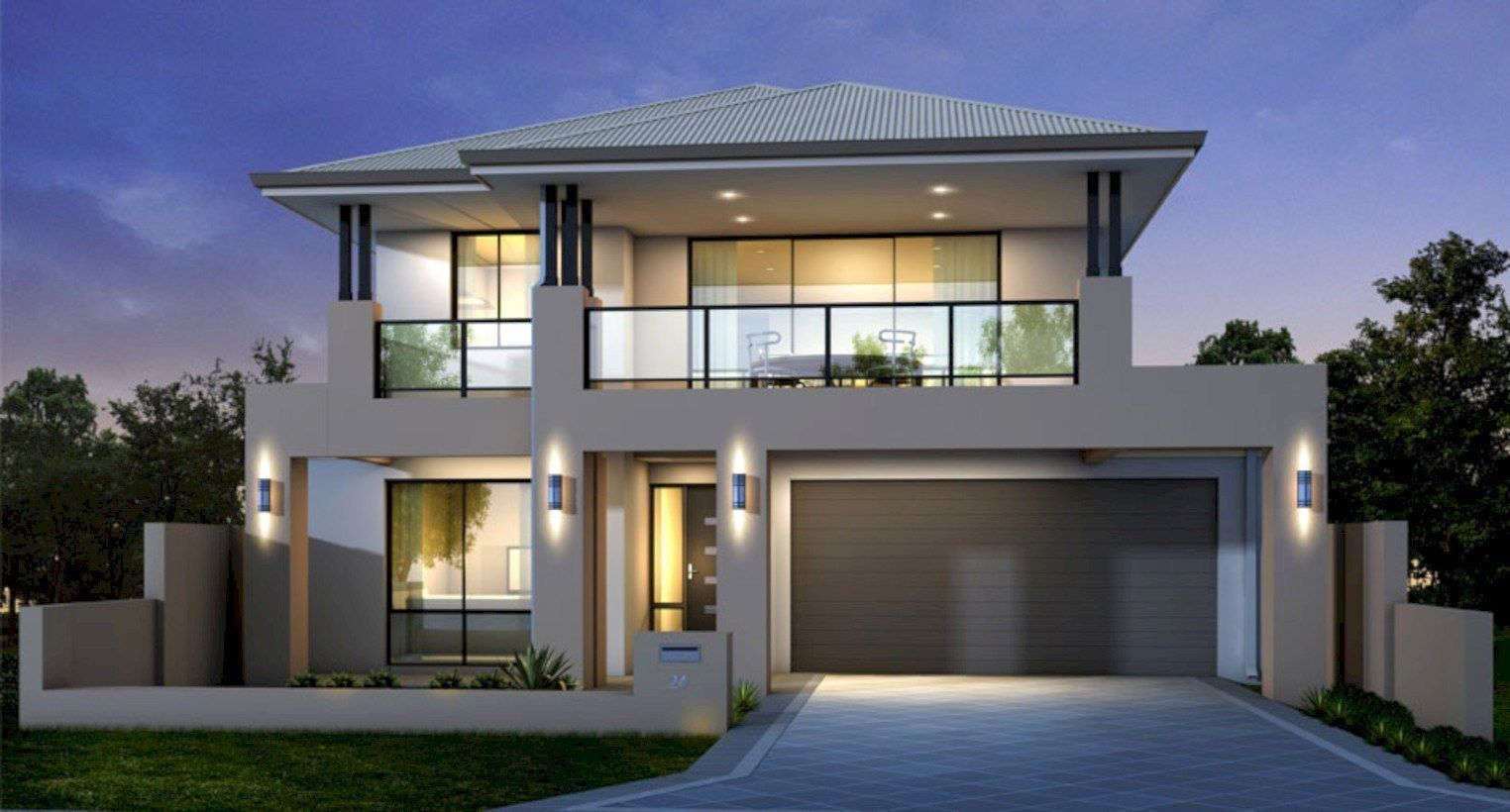 40 Best Modern Architecture Design Ideas Home Garden Modern Bungalow House Double Story House Modern House Plans
