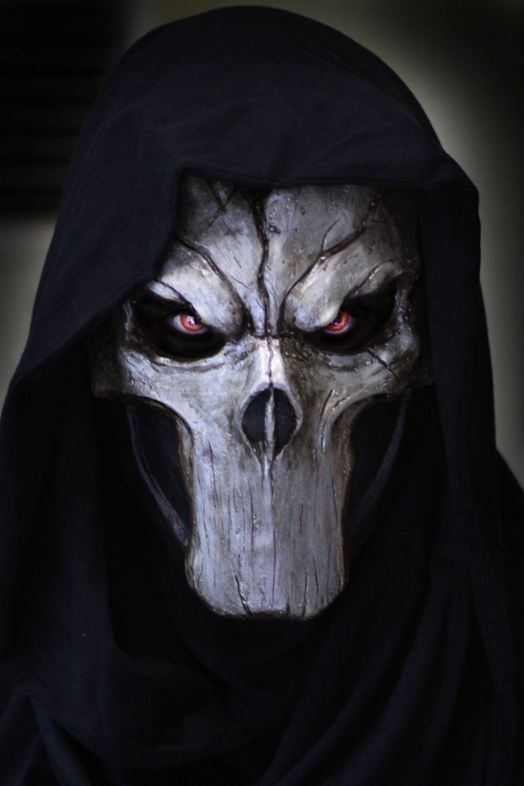 Death mask by Psychopat6666.deviantart.com on @deviantART | 参考 ...