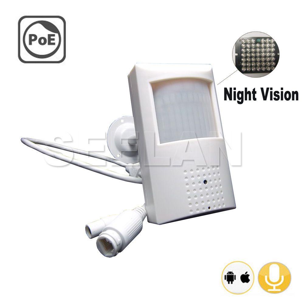 720P poe ip camera Night Vision camera 940nm infrared ip cam POE