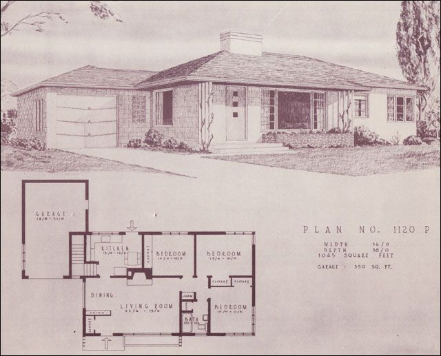 Mid century modern house plans mid century modern ranch Modern ranch floor plans
