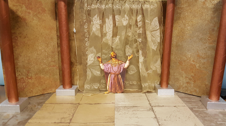 King Solomon Prays For Wisdom