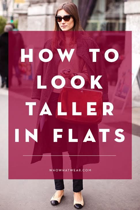 1546ea5a90 The Trick to Looking Taller in Flats. Petite Fashion