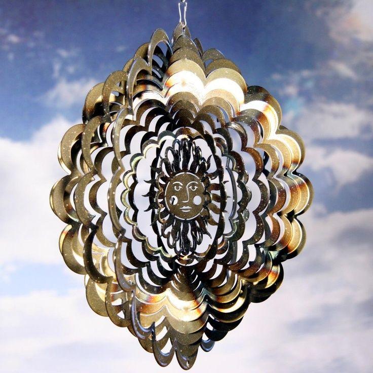 3D Wind Spinners | InnerEy Sun Face Wind Spinner | Enchanting odds ...