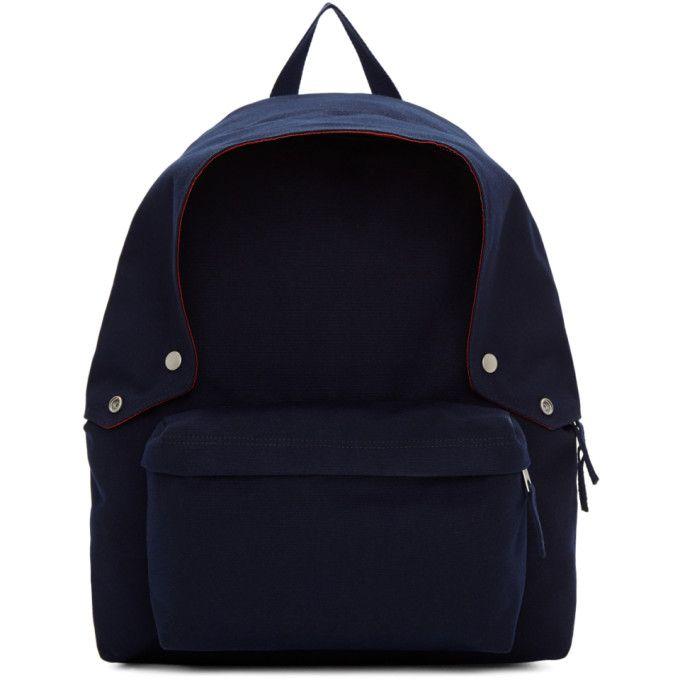 8448f41efde4 RAF SIMONS Navy Eastpak Edition Padded Backpack.  rafsimons  bags  canvas   backpacks