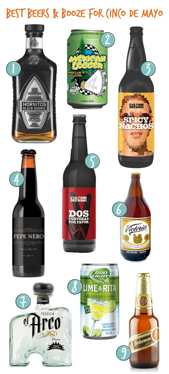 Best Beers and Booze for Cinco de Mayo