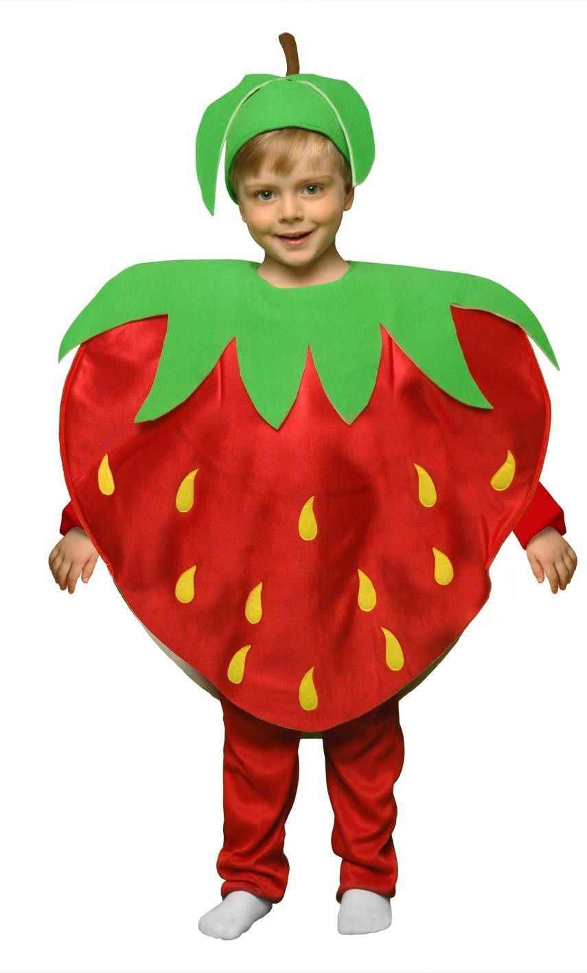 Costume fraise e2,v69348