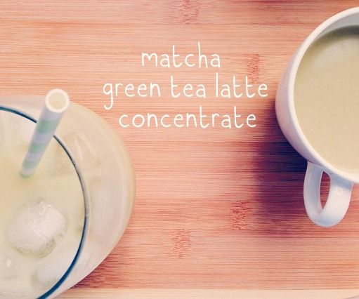 Make A Matcha Green Tea Latte Concentrate (For Classic Hot