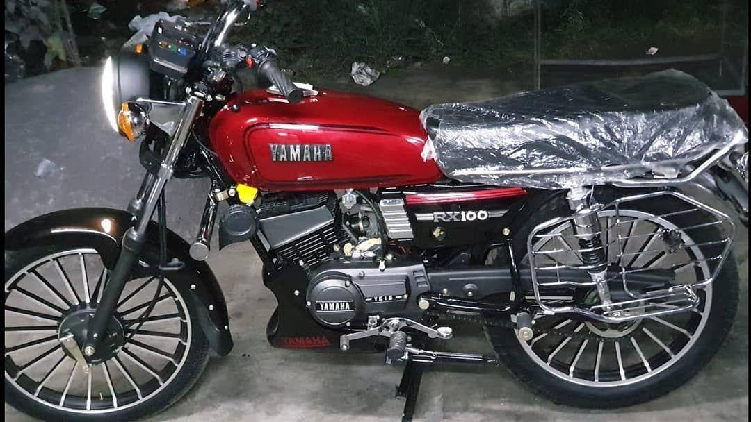 Bikes By Ujjwal Goyal Yamaha Rx100 Yamaha Rx 135 Old Bikes