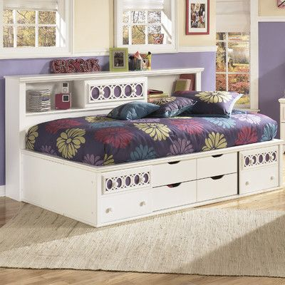Signature Design By Ashley Zayley Twin Full Storage Bed
