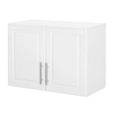 Hampton Bay Select 2 Door Mdf Wall Cabinet In White Thd90067 6a St