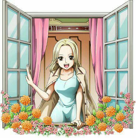 One Piece - KAYA - Teman Usopp - Kondisi badannya lemah - Kedua orang tuanya meninggal karena sakit - Muncul di chapter 23 Manga One … | Gambar wajah, Gambar, Manga