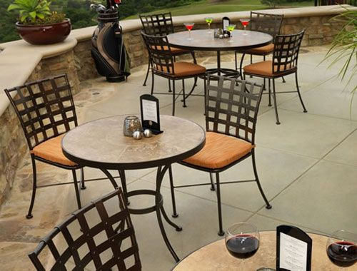 Black wrought Iron Cafe Table and Chairs | outdoor wrought iron patio seating wrought iron chairs & Black wrought Iron Cafe Table and Chairs | outdoor wrought iron ...