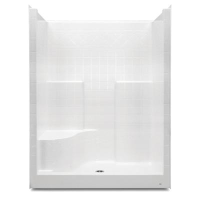 Aquatic Everyday 60 In X 36 In X 76 In 1 Piece Shower Stall